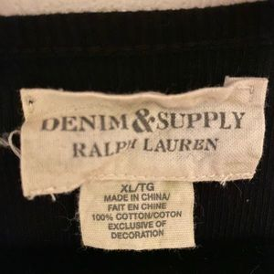 Denim & Supply Ralph Lauren Tops - Denim and Company shirt with lace sides